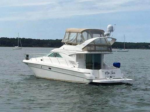 Sea Ray 400 Sedan Bridge 1998 Used Boat For Sale In East