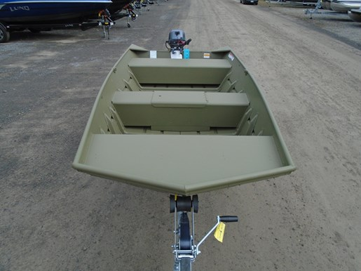 Lund 1448M Jon Boat Package For Sale 2017 New Boat for Sale in Kemptville,  Ontario - BoatDealers ca