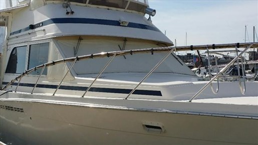 Chris craft 426 catalina 1985 used boat for sale in for Used outboard motors for sale wisconsin