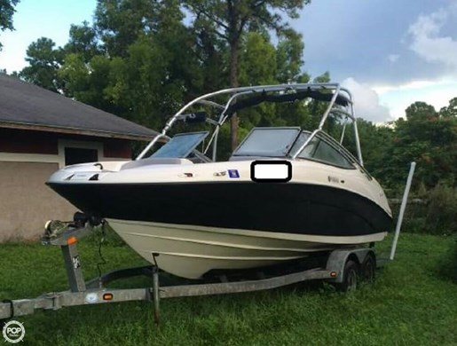 Yamaha 2009 used boat for sale in royal palm beach florida for Used yamaha outboard motors for sale in florida