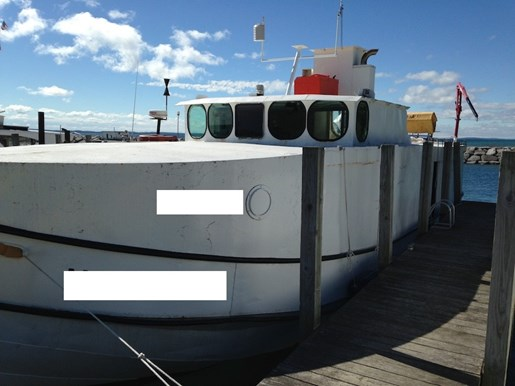 Great lakes fishing vessel 1951 used boat for sale in for Used fishing boats for sale in michigan