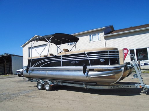 For Sale: 2017 Harris 240 Sunliner Black - Har101 25ft<br/>Pirate Cove Marina