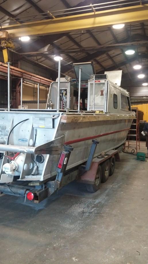 Boat Dealers Alberta >> Aluminum Jet Boat 12 Passenger - More pictures added! 1974 ...