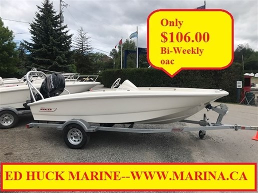 For Sale: 2018 Boston Whaler 150 Super Sport 15ft<br/>Ed Huck Marine Limited