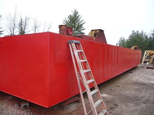 1990 60' x 16' x 6' Steel Deck Barge with Ramp Photo 10 of 15