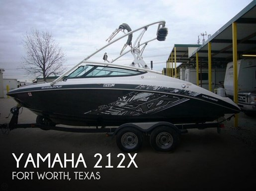 yamaha 2012 used boat for sale in fort worth texas