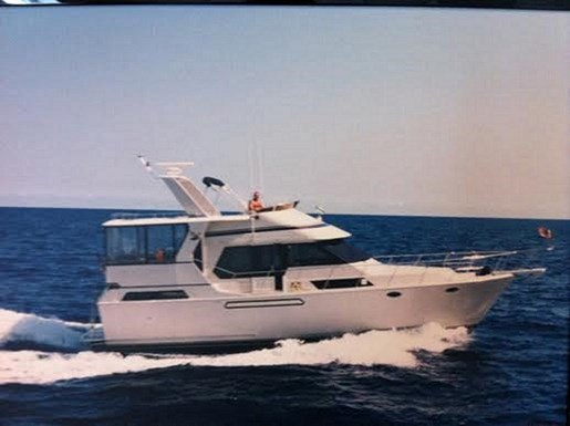 1988 angel motor yacht boat for sale 45 foot 1988 yacht for Angel boats and motors
