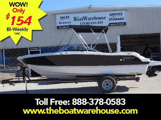 2017 Four Winns H190 Mercruiser 220HP Trailer Ext Platform Photo 1 of 153