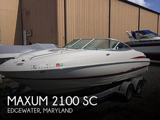 2005 Maxum 2100 SC Photo 1 of 20