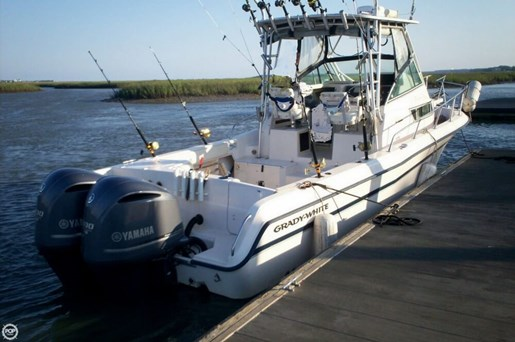 Grady white 1999 used boat for sale in sarasota florida for Murrells inlet deep sea fishing