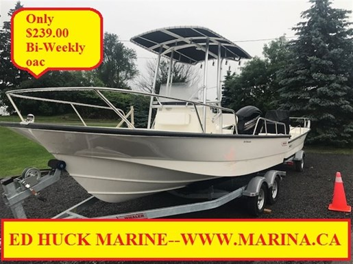 For Sale: 2017 Boston Whaler 190 Montauk 19ft<br/>Ed Huck Marine Limited