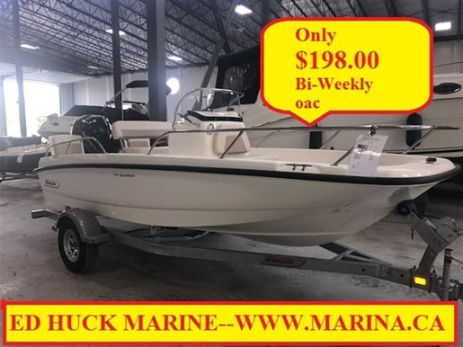 For Sale: 2018 Boston Whaler 170 Dauntless 17ft<br/>Ed Huck Marine Limited