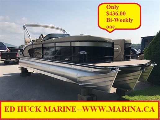 For Sale: 2018 Manitou Pontoon 25 Legacy Srs 26ft<br/>Ed Huck Marine Limited