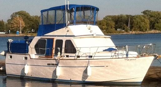 39 Sundeck Trawler
