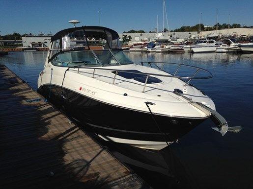 Sea ray 280 sundancer 2011 used boat for sale in pewaukee for Used outboard motors for sale wisconsin