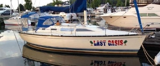 1988 MIRAGE 39 SLOOP for sale