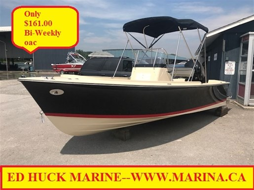 For Sale: 2017 Rossiter 17 Center Console 17ft<br/>Ed Huck Marine Limited