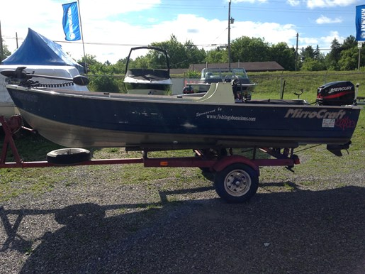 Mirrocraft fishing boat 2008 used boat for sale in for Used fishing boats for sale in california