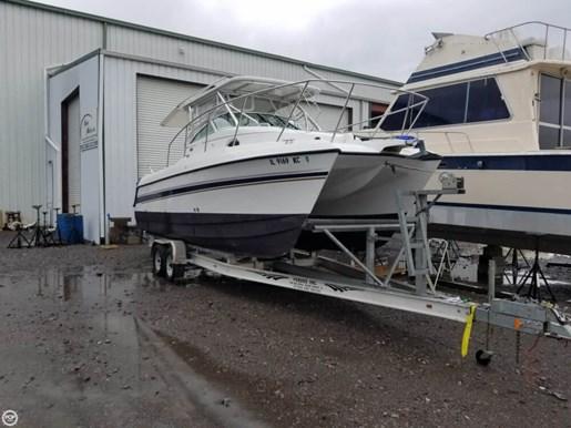 Glacier bay 2007 used boat for sale in panama city florida for Used boat motors panama city fl