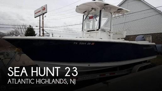 Sea hunt 2014 used boat for sale in atlantic highlands for Atlantic highlands fishing boats