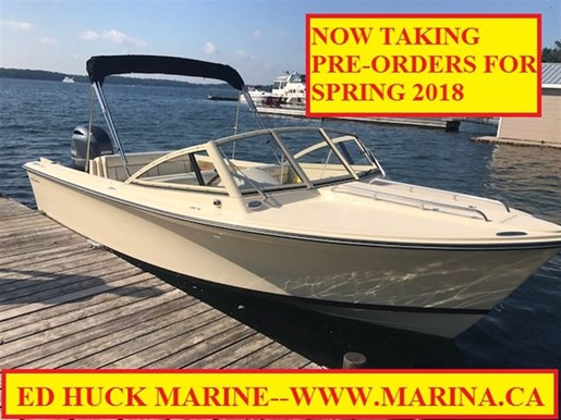 For Sale: 2018 Rossiter R20 Coastal Cruiser 20ft<br/>Ed Huck Marine Limited