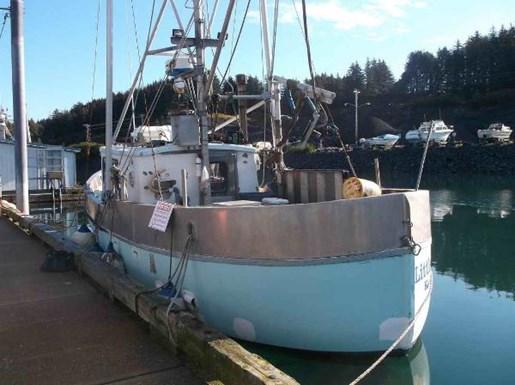 Alaska fishing crab boat 1974 used boat for sale in kodiak for Alaska fishing boats for sale