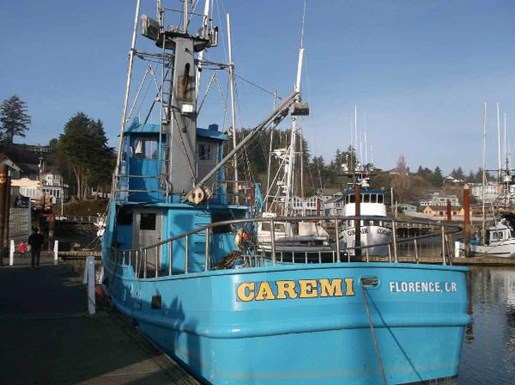 Longliner tuna crab boat troller 1951 used boat for sale for Crab fishing boats for sale