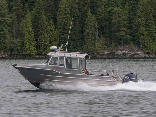 Aluminum Fishing Boat Wolf Mfg West Coast Cruiser 2007