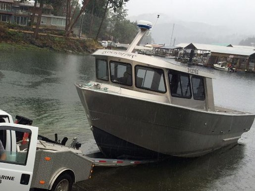 Prawn and crab boat custom aluminum 2015 used boat for for Crab fishing boats for sale