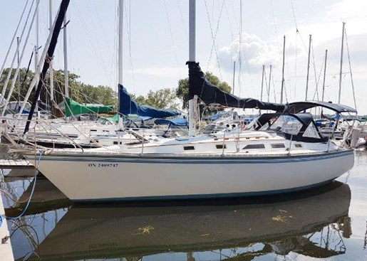 1984 Hunter 34 Sloop Photo 1 sur 29