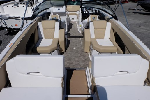 2018 Scarab 255 Platinum Twin 150HP Rotax Tandem Trailer Photo 7 of 17