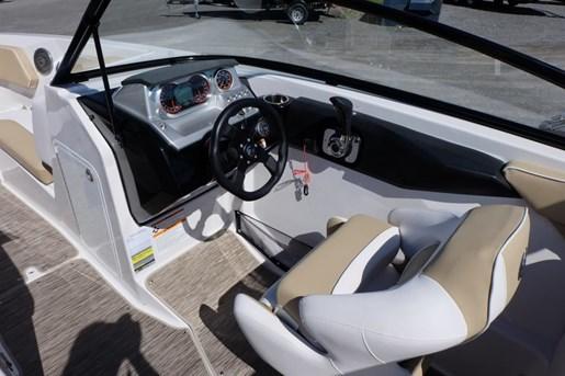 2018 Scarab 255 Platinum Twin 150HP Rotax Tandem Trailer Photo 11 of 17
