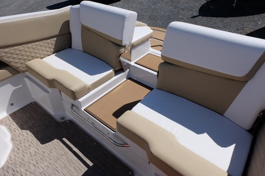 2018 Scarab 255 Platinum Twin 150HP Rotax Tandem Trailer Photo 8 of 17