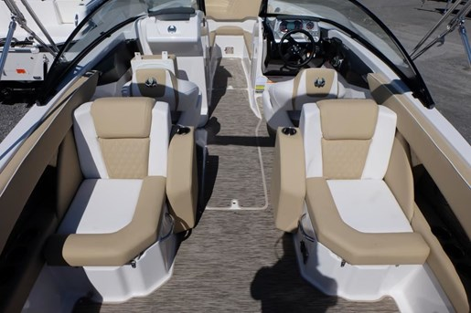 2018 Scarab 255 Platinum Twin 150HP Rotax Tandem Trailer Photo 9 of 17