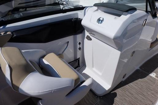 2018 Scarab 255 Platinum Twin 150HP Rotax Tandem Trailer Photo 13 of 17