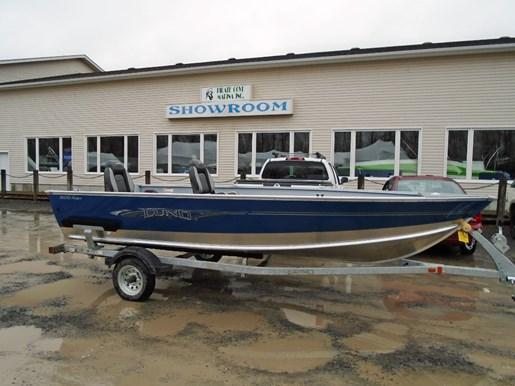 For Sale: 2018 Lund 1600 Rebel Tiller Blue Lf697 16ft<br/>Pirate Cove Marina