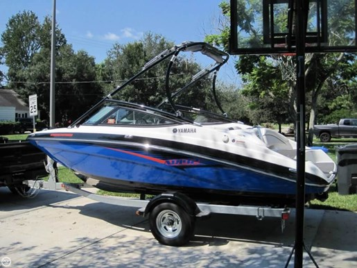 Yamaha 2014 used boat for sale in tampa florida for Yamaha dealer tampa