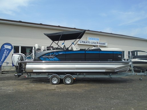 For Sale: 2018 Manitou 23 X Plode Srs Dealer Demo 24ft<br/>Pirate Cove Marina
