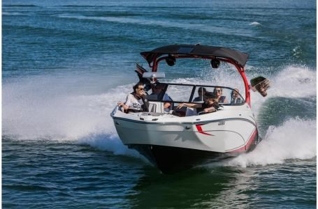 Yamaha 242x e series 2018 new boat for sale in mactier for Yamaha motor boats for sale