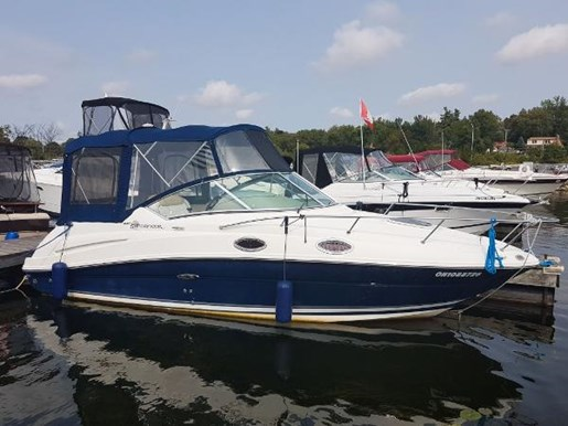 2008 Sea Ray 240 Sundancer with trailer Photo 1 of 19