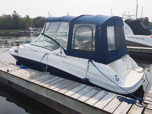2008 Sea Ray 240 Sundancer with trailer Photo 2 of 19