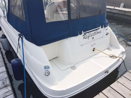2008 Sea Ray 240 Sundancer with trailer Photo 3 of 19