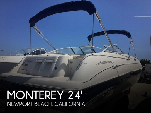 2001 Monterey Explorer 240 Sport Photo 1 of 20