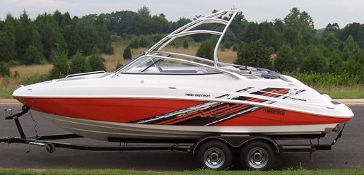 Yamaha ar230 2008 used boat for sale in elginburg ontario for Yamaha ar230 boat cover