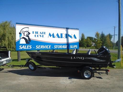 2009 LUND 1625 REBEL XL TILLER FOR SALE for sale