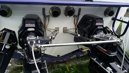 1998 Baja boat for sale, model of the boat is 36 Outlaw & Image # 10 of 10