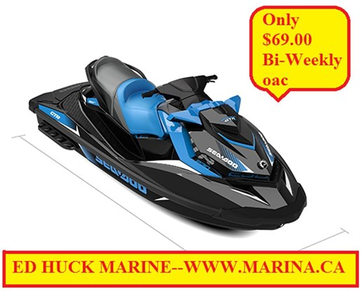For Sale: 2018 Sea Doo Pwc Gtr 230 Hp 0ft<br/>Ed Huck Marine Limited