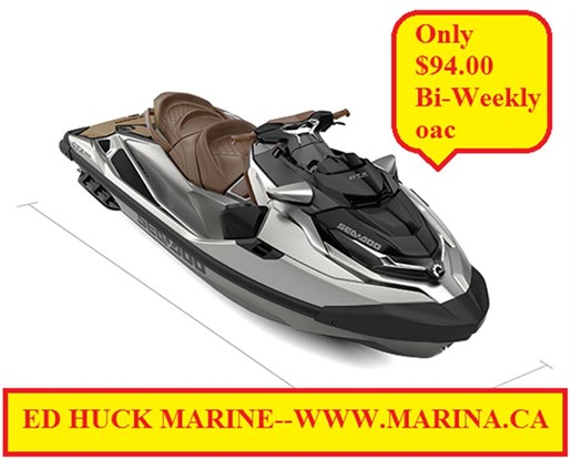 For Sale: 2018 Sea Doo Pwc Gtx Ltd 300 Hp 0ft<br/>Ed Huck Marine Limited