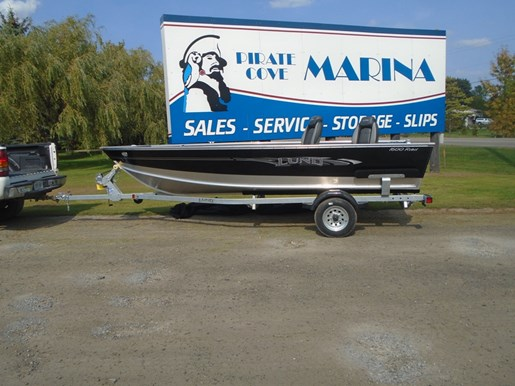 For Sale: 2017 Lund 1600 Rebel Tiller Black -lf679 16ft<br/>Pirate Cove Marina