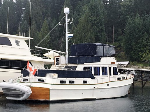 Grand banks motor yacht 1989 used boat for sale in bc for Grand banks motor yachts for sale